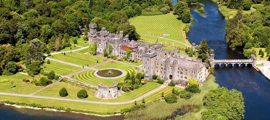 Ashford Castle, Lough Corrib