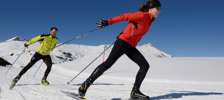 Saas-Fee: Skii