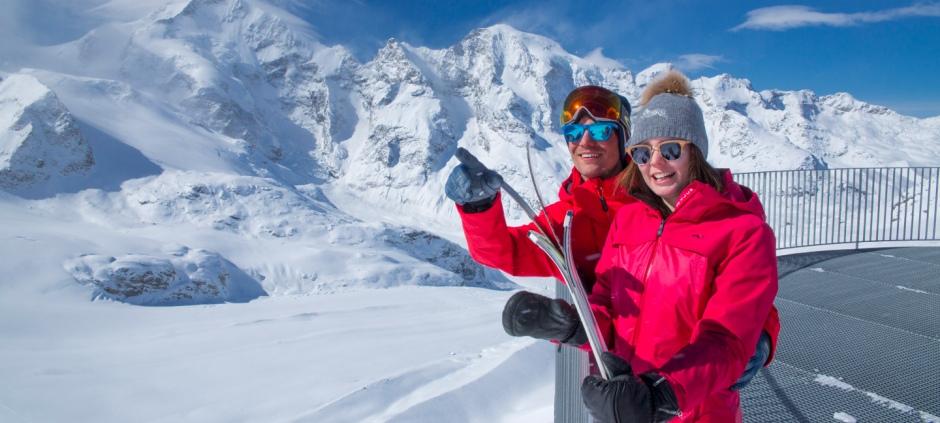 Arrival St Moritz