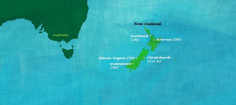 Romance in New Zealand