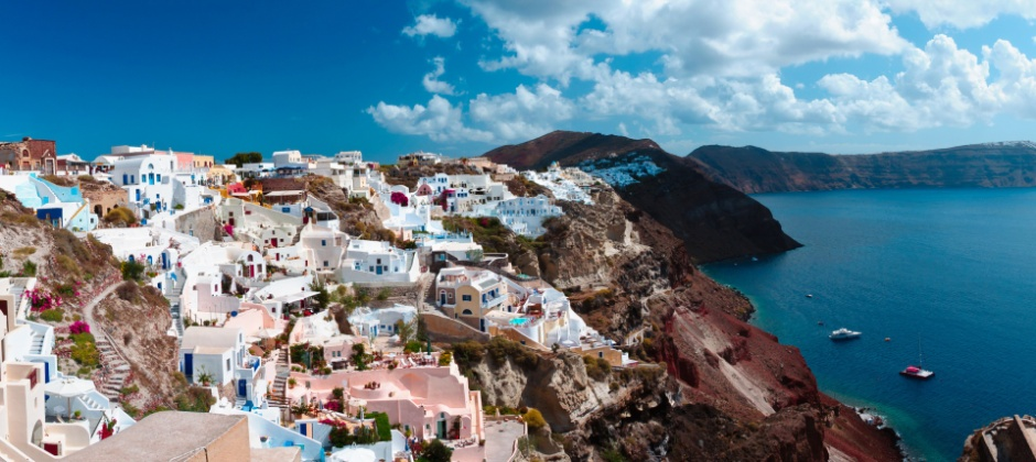 Santorini: Visit Volcano, Thermal Springs