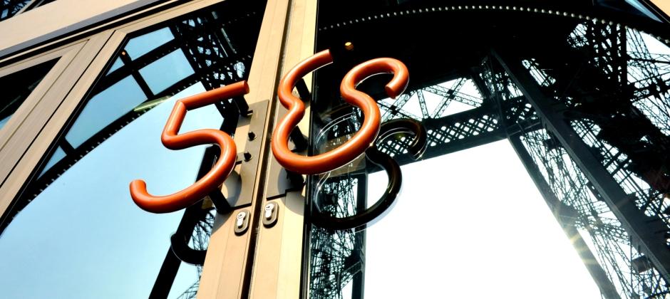 Arrive Paris: Dinner at 58 Tour Eiffel on 1st Floor of Eiffel Tower
