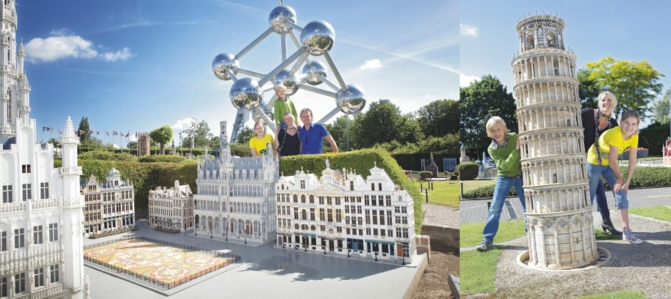 Bruges to Brussels: Mini Europe