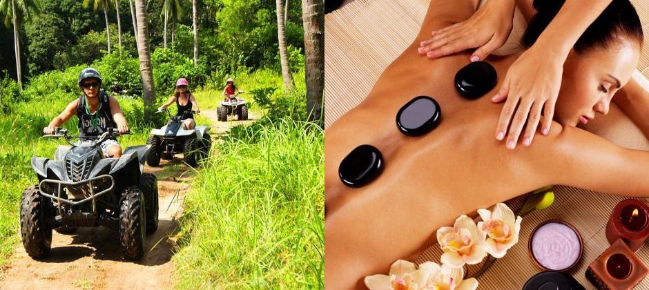 Koh Samui: Quad Safari, Hot Stone Massage