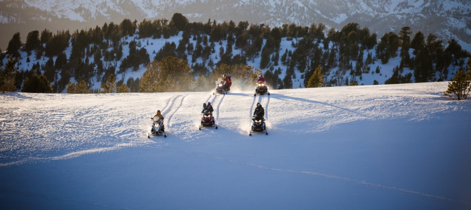 Arrival Mammoth Mountain