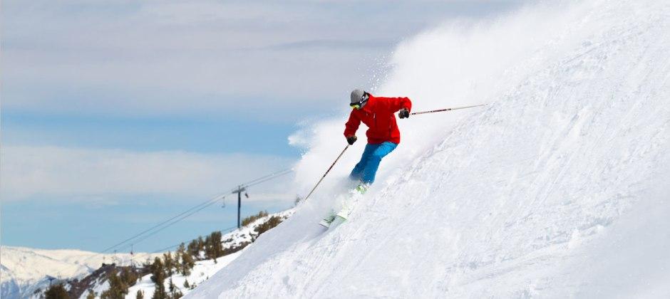 Mammoth: Skiing