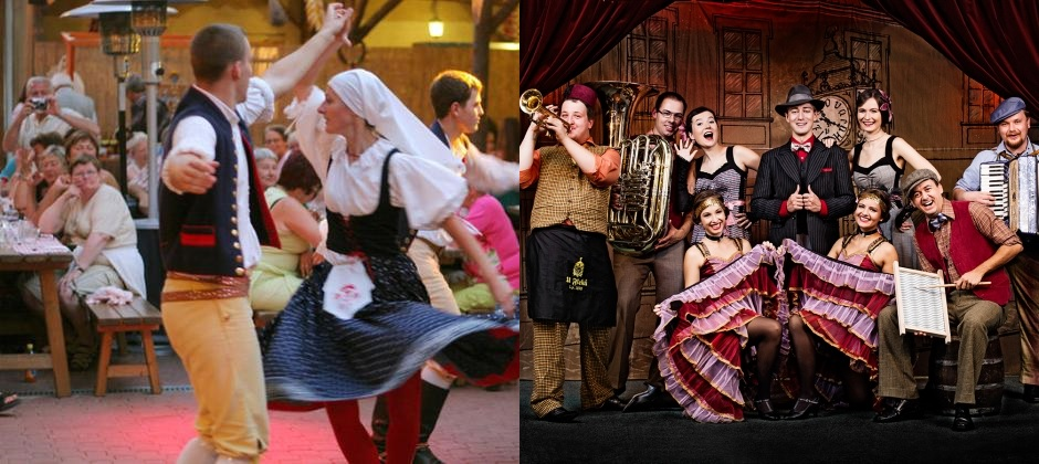 Prague: Folklore Show with Dinner