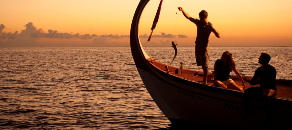 Arrival Maldives: Sunset Fishing