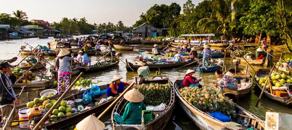 Saigon – Mekong Delta (Ben Tre) – Local Boat