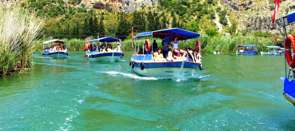 Marmaris: Dalyan Koycegiz by Bus Including River Cruise, Turtle Beach, Mud Baths and Lunch