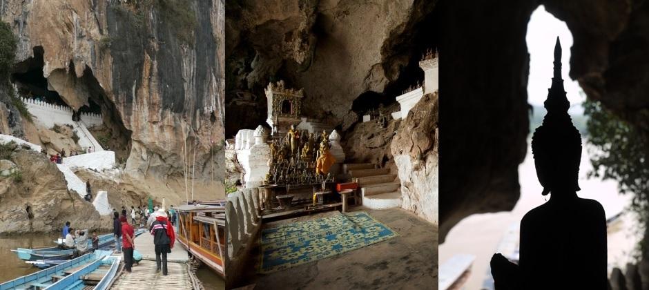 Luang Prabang: Visit Pak Ou Caves