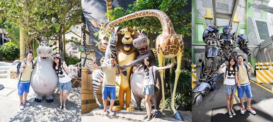 Singapore: Universal Studios