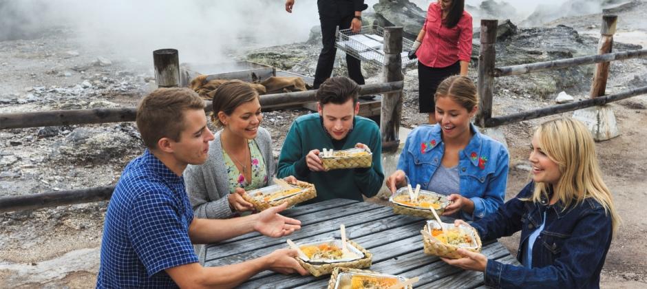 Rotorua: Thermal Spa, Hangi Lunch